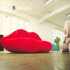 bocca pink lady and dark lady sofa by studio 65 1970 and 2008