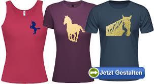 shirt selbst designen pferde t shirt selbst gestalten und bedrucken lassen