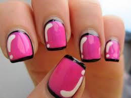 light pink nail designs pink nail designs for short nails