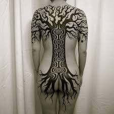 back blackwork tree best ideas gallery