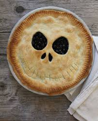 blueberry jack skellington pie dinner with julie