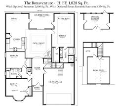 bonaventure house plan house interior