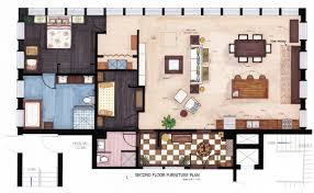 floor plan using autocad rendered floor plan autocad this is a furniture plan i created for