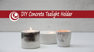 can you use tea light candles without holders diy concrete cement tealight holder youtube