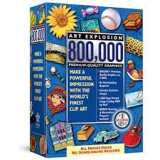 Business Card Factory Deluxe 4 0 Free Download Art Explosion 800 000 Clipart Software Nova Development