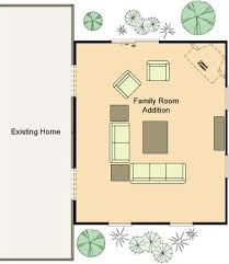 family room floor plans 16 best family room addition images on family room