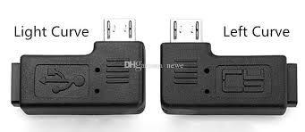 l with usb charger mini usb female to micro usb male l shape black adapter charger