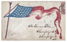 American Flag Price To Mr Thomas Price Civil War Envelopes 05 U2014 Daily Observations