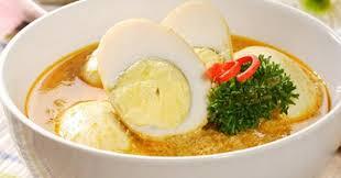 menu pelengkap opor ayam telur bumbu kuning untuk pelengkap opor lebaran okezone lifestyle