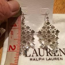 Sparkly Chandelier Earrings 74 Off Ralph Lauren Jewelry Ralph Lauren Sparkly Chandelier