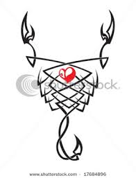 scorpio symbol tribal tattoos design art of tattoos