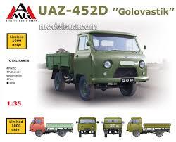 uaz 452 452 golovastyk army light cargo truck 1 35 amg 35403