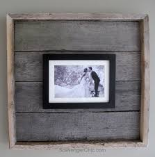 easy pallet wood frame my repurposed life