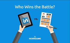 How To Upload Resume To Linkedin Linkedin Vs Resume Who Wins The Battle Main Differences Between