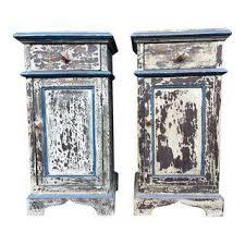 vintage u0026 used boho chic nightstands chairish