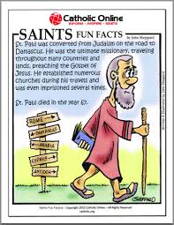 catholic shop online saints facts st paul saints catholic saints and religion