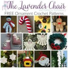 free ornament crochet patterns the lavender chair