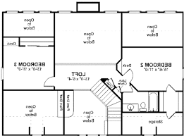 One Story Homes 25 Three Bedroom Houseapartment Floor Plans 3 House One Story