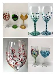 wine glass painting class wed march 28 life on canvas paint sip glendale 28 march