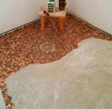Bathroom Floor Pennies The Adventures At Camp Dunmovin U0027 Well Its Been A Month