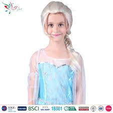 wigs for kids halloween frozen elsa wig for snow queen frozen elsa wig for
