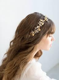 grecian headband bridal headpiece leafy headband with crystals style 798