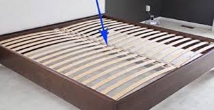 Bed Frame Support Skorva Steel Midbeam Support Beam Needed For Mos On Size Bed