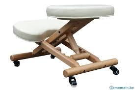 siege assis genou fauteuil assis genoux siage ergonomique blanc assis genou siege