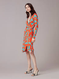 banded sleeve wrap dress landing pages by dvf