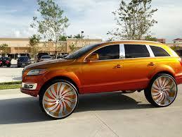 Audi Q7 Gold - big wheels audi q7 elliot deluxe flickr