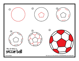 how to draw a soccer ball art for kids hub soccer ball cake