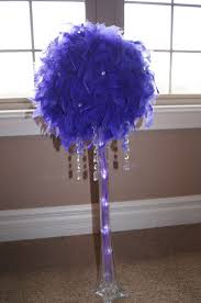 feather centerpieces anyone using ostrich feather centerpieces weddingbee