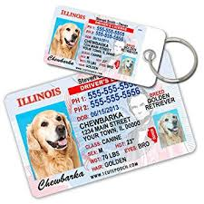 illinois driver license custom tags for pets 2