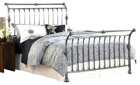 Metal Sleigh Bed Metal Sleigh Bed Beds And Bed Frames Slay Bed Frame Metal Sleigh