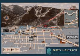 Telluride Colorado Map by Pretty Lights Music Telluride Information Pretty Lights Music