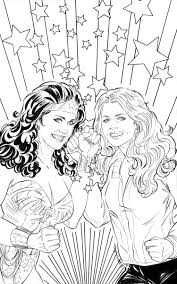 woman u002777 bionic woman coloring book cover bleeding cool
