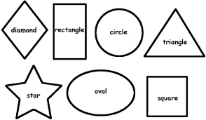 Drawing Basic Shapes Coloring Page Netart Coloring Pages Shapes
