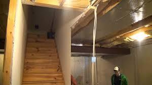 innovative basement stairs finishing ideas with diy basement