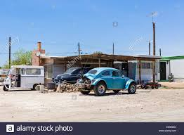 mobile homes at bombay beach on the salton sea imperial county