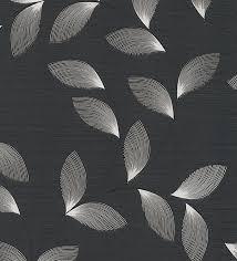 imagenes blancas en fondo negro papel pintado hojas modernas blancas fondo negro 1140326