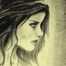 pencil drawing side face qusaay flickr