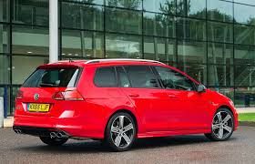 volkswagen red photo volkswagen 2015 golf vii r estate red cars metallic back view