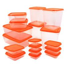 ikea pruta foodsaver 17 piece set orange lazada ph