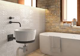 inspiring tile walls in bathroom and best 25 bathroom feature wall
