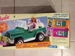 jeep barbie barbie radio control jeep wrangler by mattel 1990 u0027s barbie