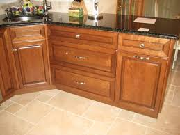 kitchen cabinet trash pull out knob placement on trash pull out cabinet