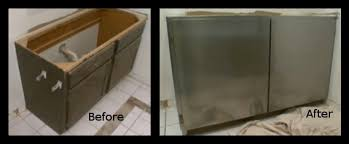 covering cabinets with contact paper covering cabinets with stainless steel peel and stick paper