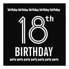 416 best 18th birthday party invitations images on pinterest
