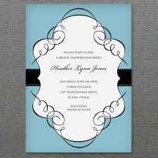 bridal shower invitation template scroll frame bridal shower invitation template print