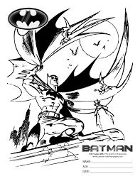 batman coloring pages boys